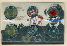 2015 - Canada - Special Edition Uncirculated Set - Macdonald Flanders Flag Poppy