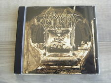 death metal CD british DETRIMENTUM A Monument To The Suffering UK heavy 2002