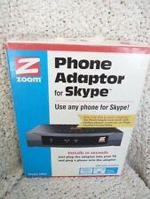 Zoom Model 5900 Home Phone Adapter for Skype