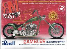 Revell 'Gambler' Custom Chopper / Motorcycle in 1/12 7318