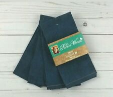 The Pioneer Woman Denim Blue Dinner Napkins Set of 4  18 x 18 New MULTIPLE SETS!