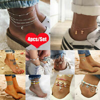 Bohemian Women Lady's Anklet Ankle Chain Bracelet Foot Sandal Fashion Jewelry