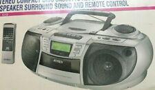 Jensen Stero Compact Disc Cassete Recorder / Digital Am Fm Radio And Remote