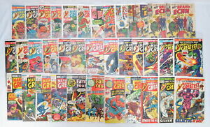 Lot 37 Marvels Greatest Comics Fantastic Four Brand Echh Silver/Bronze 1969-1988