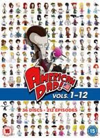American Dad!: Volumes 1-12 DVD (2017) Seth MacFarlane cert 15 36 discs