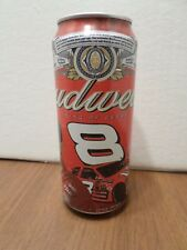 Budweiser Dale Earnhardt Jr.  #8  NASCAR Racing 16 oz Beer Can
