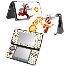 Super Mario Fireball Vinyl Skin Sticker DECAL COVER for NINTENDO 3DS Console
