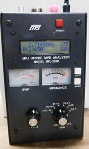 MFJ 259B HF/VHF SWR ANALYZER