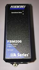Foxboro Invensys FBM206 8 Channel, Pulse Input, Isolated