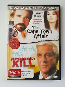 The Cape Town Affair / Project Kill Double Feature (DVD)