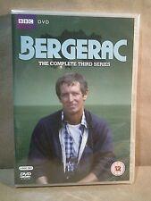 Bergerac - The Complete Third Series - John Nettles - 3 UK DVDs - New/Sealed