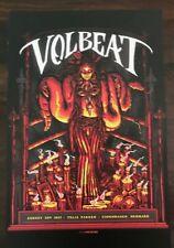 Volbeat Live Copenhagen Denmark 11X17 Promo Record Store Poster *Rare