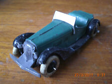 Dinky pre war french 2-Seat Sports Car 24h green Body all original