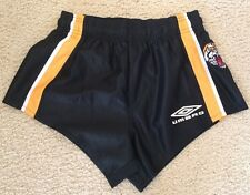 Wests Tigers Rugby League Shorts - Kids YS - Approx 10-12 yrs - Umbro - VGC