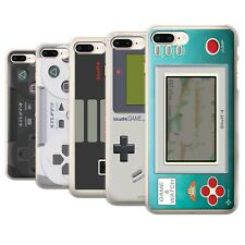STUFF4 Phone Case/Back Cover for Apple iPhone 8 Plus /Games Console