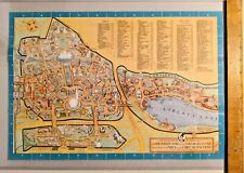 Vintage 1940 Rose Pictorial Map of the 1940 New York World's Fair