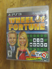 SONY PLAYSTATION 3 PS3 WHEEL OF FORTUNE VIDEO GAME COMPLETE FAMILY FAV FREE SHIP