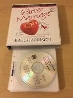 KATE HARRISON  BBC 12 X CD AUDIO BOOK -THE STARTER MARRIAGE -READ BY JILLY BOND
