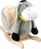 Rocking Horse Animal Gallop Purple Pony Donkey Traditional Childrens Favourite