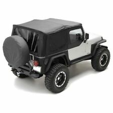 1997-2006 Jeep Wrangler Replacement Soft Top w/ Upper Doors & Tinted Windows Kit