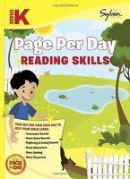 Kindergarten Page Per Day: Reading Skills (Sylvan Page Per Day Series, Language