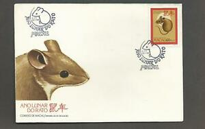 "MACAU - 1984 YEAR OF ""RAT"" (FIRST DAY COVER)"