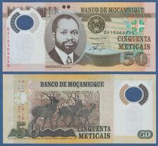 Mozambique/mocambique 50 de Metlcais 2011 polímero UNC p. 150