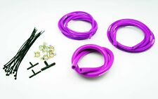 AUTOBAHN88 Engine Silicone Vacuum Hose Dress Up Kit PURPLE Fit SUPERCAR