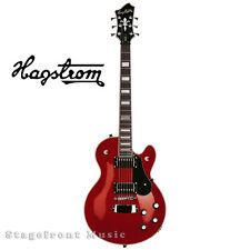 HAGSTROM HSSWEWCT SWEDE ELECTRIC GUITAR IN WILD CHERRY GLOSS FINISH - BRAND NEW