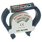 Ansmann Universal Batterietester Tester für alle gängigen größen + Knopfzellen
