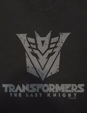 Transformers The Last Knight CinemaCon Promo Black Short Sleeve T-shirt Size XL