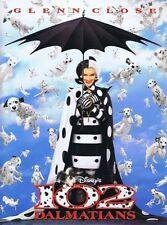 102 Dalmatians - 2000 - original Disney Press Kit with 5 stills - Glenn Close