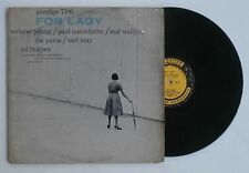 1957 Webster Young Prestige Jazz LP Record PRLP 7106 For Lady RVG DG 446 W. 50th