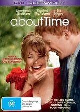 About Time (DVD, 2014) Starring Rachel McAdams, Romance Film