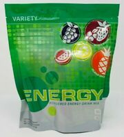 Genesis Pure Energy Powdered Mix Variety Pack Grape Lemon Mixed Berry 30 Serving