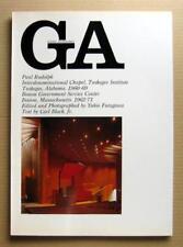 GA Global Architecture 20, Paul Rudplph, Interdenominational Chapel etc.  / 1981