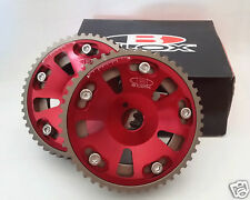 CAM GEARS ADJUSTABLE BLOX RED - Toyota Supra 2JZ/1JZ 12 Month Warranty