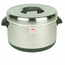 INSULATED SUSHI POT - STAINLESS STEEL - 60 CUPS SEJ74000
