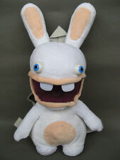 "New Lapins Cretins Rayman Raving Rabbids 14"" ChildrenTravel Backpack Plush Toy"