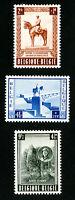 Belgium Stamps # B555-7 VF OG H Set of 3