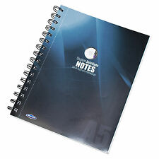 Spiral A5 Feint Ruled Lined Notebook Journal 200 Page Paper Writing Note Book