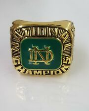 1977 University of Notre Dame national Championship Replica Ring - Joe Montana