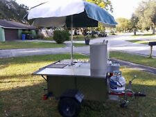 Excellent Condition! Immediately Ready Food Cart Business *2 Removable Grills*