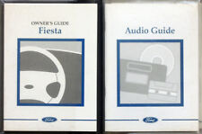 FORD FIESTA OWNERS HANDBOOK GUIDE MANUAL SET 1997 WITH WALLET . MARK 4
