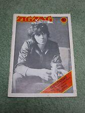 ZIGZAG Rock Magazine No. 47 ~ Grace Slick ~ Keith Richards ~ Roy Harper ~ Rick N