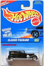 HOT WHEELS 1997 CLASSIC PACKARD #625 BLACK