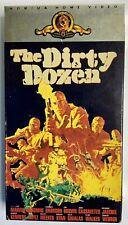 The Dirty Dozen  Beta Betamax Movie with Marvin/ Borgnine/ Bronson  1967  RARE