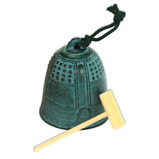 Japanese Furin Wind Chime Nanbu Cast Iron Iwachu Temple Bell XXL, Made in Japan