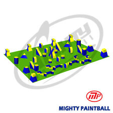 MP Paintball Field - 7 Man PRO Xtreme Package- 45 Smart-Bunkers (MP-XT-7PRO)