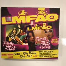 lmfao sorry for party rocking - party rock coffret 2 cd  neuf sous blister